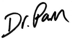 Pam Davenport signature