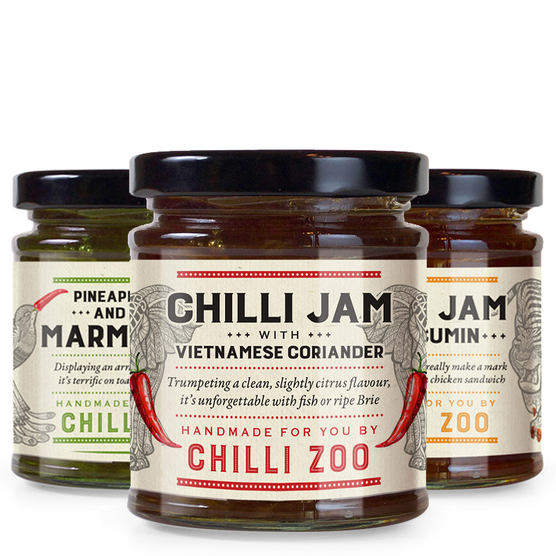 Chilli Zoo chilli jams
