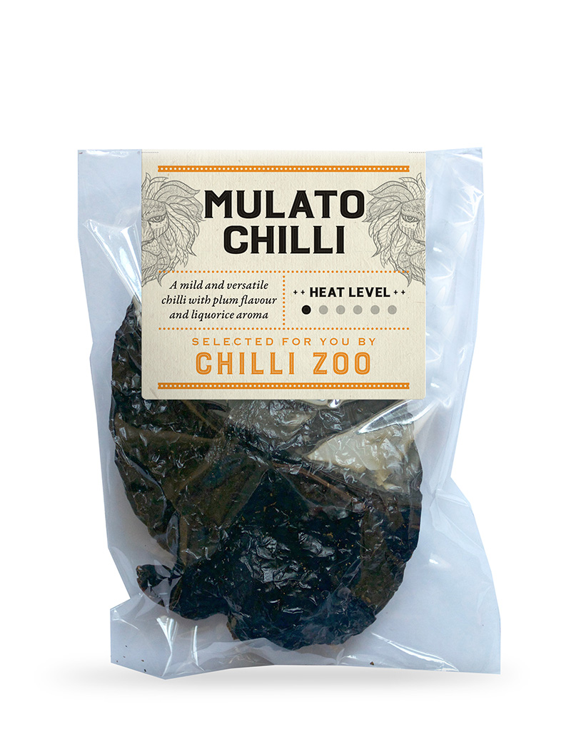 Dried Mulato chilli