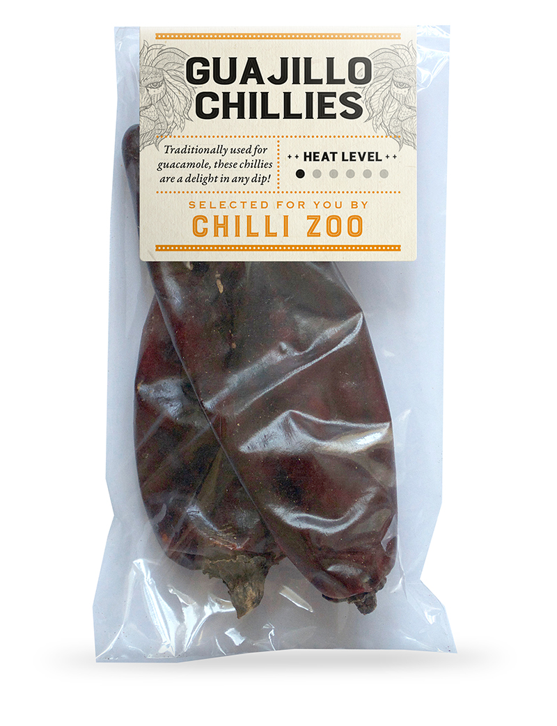 Dried Guajillo chillies