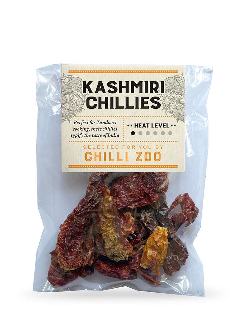 Dried Kashmiri chillies
