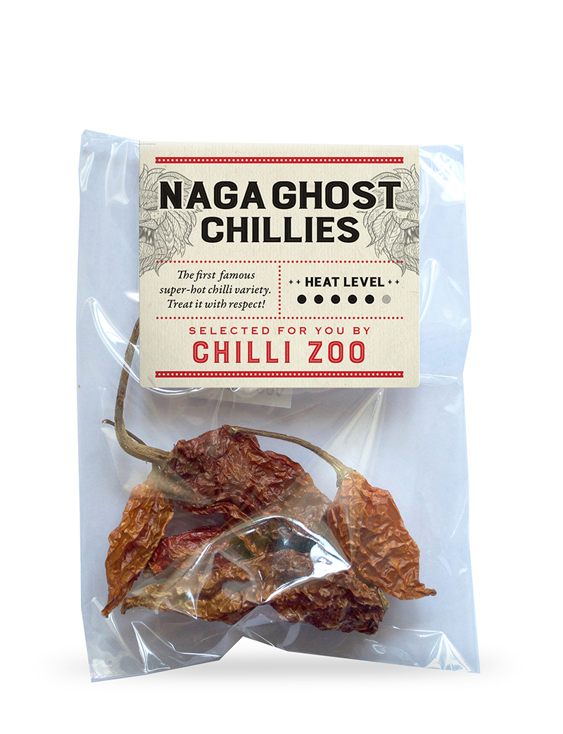 Dried Naga Ghost chillies